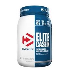 Elite Casein-Vanilla 2.0lb (6 per case) (Dymatize)