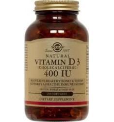 Vitamina D3  400 IU Softgels