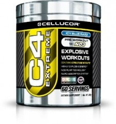 C4 Extreme-Ice Blue Rzz 60 Serv (Cellucor)