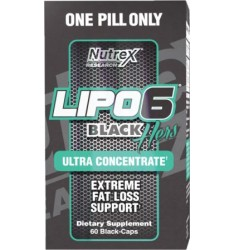 Lipo-6 Black Hers ULTRACONCENTRADO (Para Mujeres)